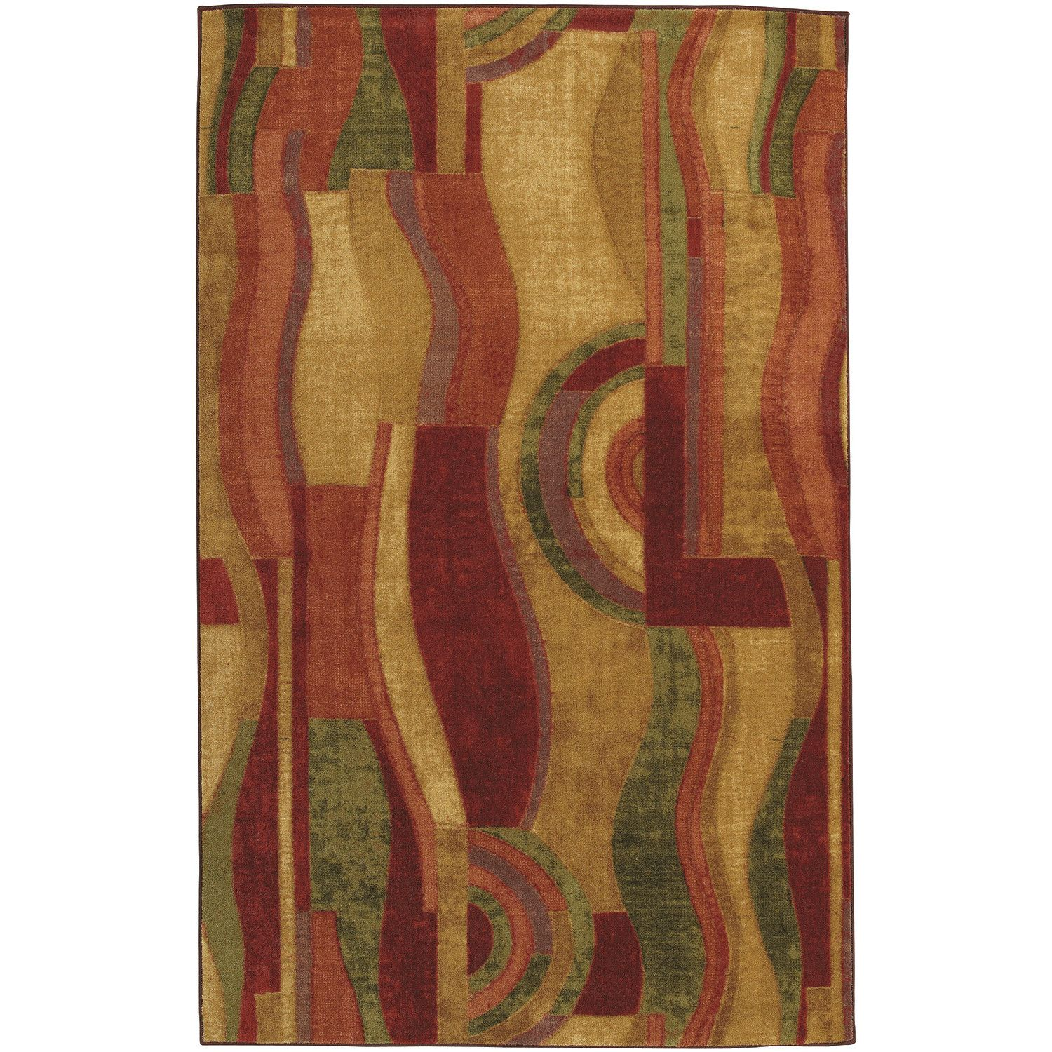Latitude Run Jeanie Wine Area Rug Rug