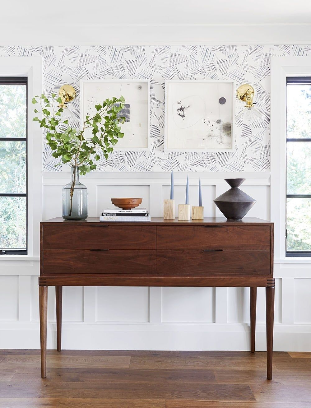 6 Ways to Style a Dining Room Sideboard images