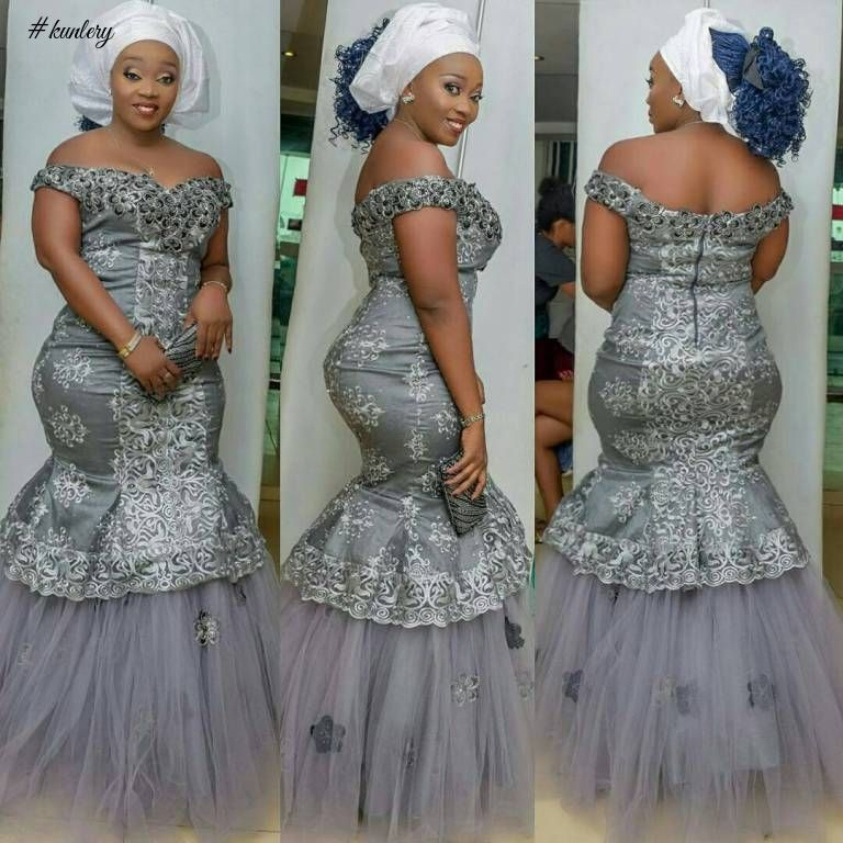 LET'S BEGIN THIS NEW MONTH IN SLEEK AND SEXY ASO EBI STYLES