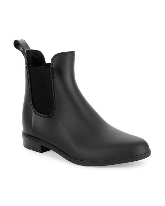 Chelsea rain boots, Black rain boots