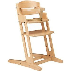 BabyDan Danchair Medium Back Wooden Highchair (Natural) Now Why The Heck  Are The GOOD