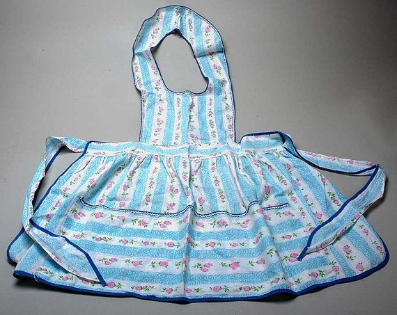 Vintage blue and white floral striped full apron    http://www.etsy.com/listing/99832059/vintage-blue-and-white-floral-striped?ref=sr_gallery_22_search_query=apron_view_type=gallery_ship_to=US_explicit_scope=1_page=3_search_type=vintage