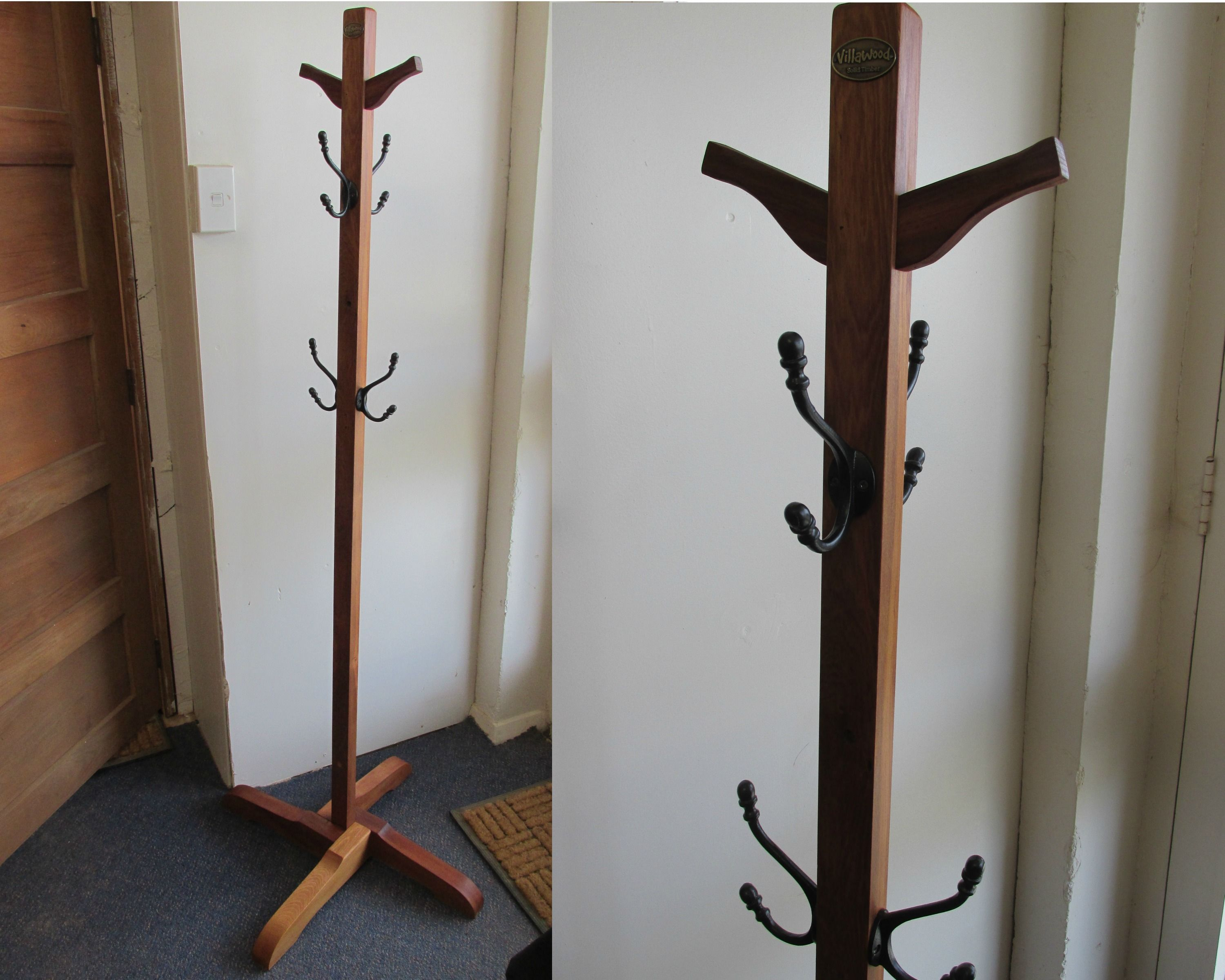 Pin On Coat Stand