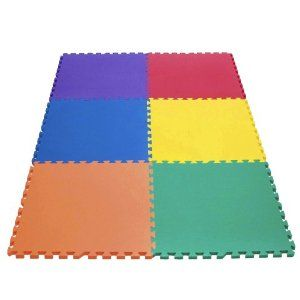Rainbow Play Mats Made From Non Recycled Non Toxic Light Weight