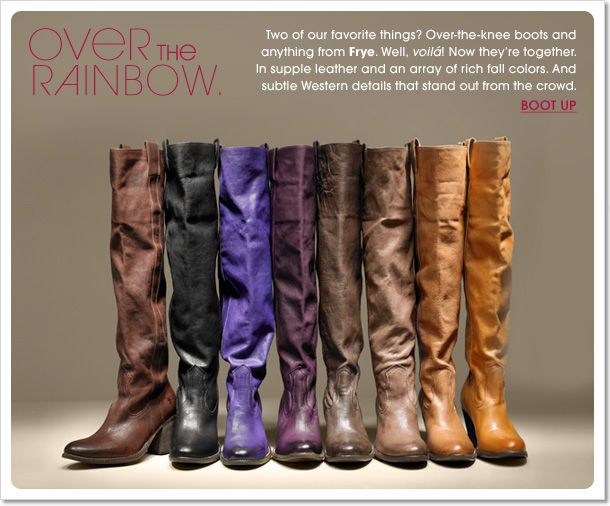 Frye boots - how would I ever choose