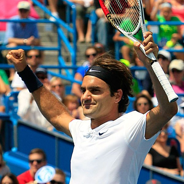 Federer Tops Djokovic For Record 5th Cincy Title Roger Federer Tennis World Tennis