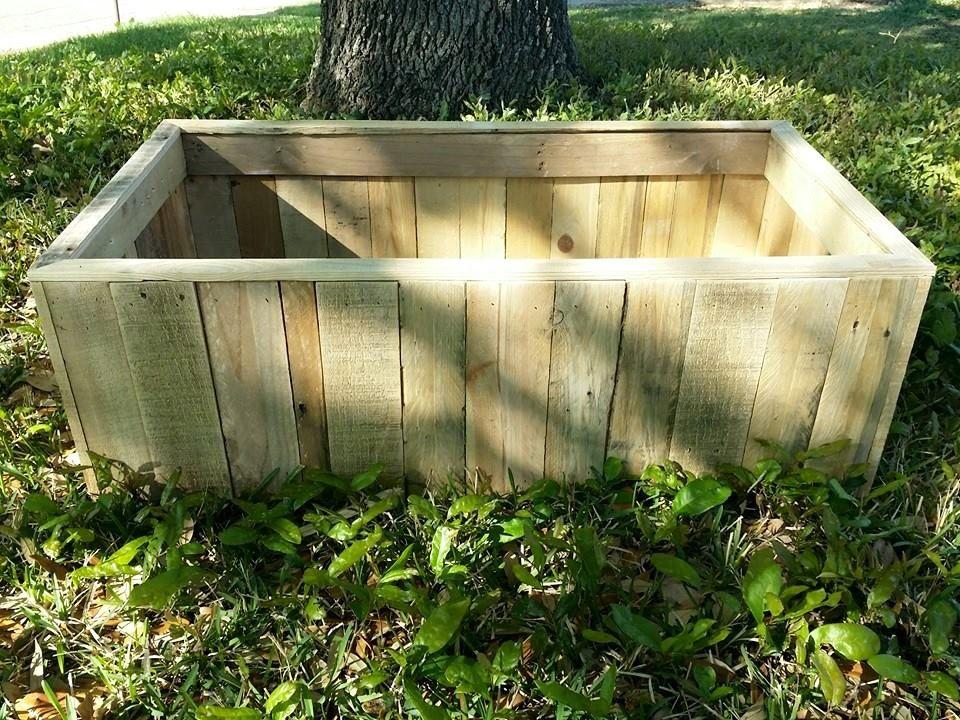 Pallet Planter Or Raised Garden Bed