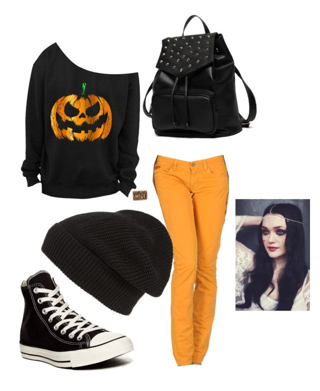 """""""october"""" by aliyakister on Polyvore featuring Unlimited, Converse, Princess Carousel and Phase 3"""