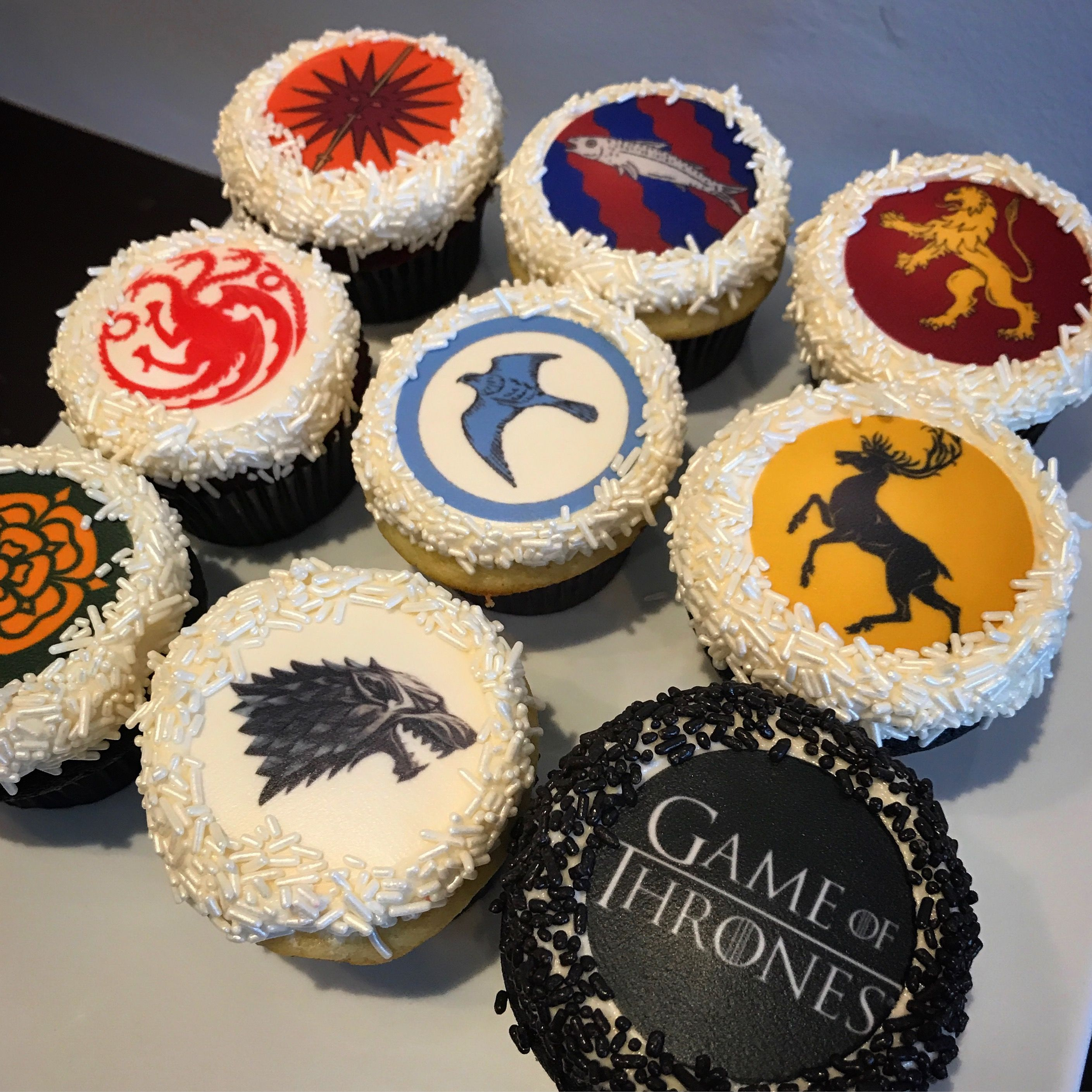 Game Of Thrones Season 7 Cupcakes Game Of Thrones Cake Game Of
