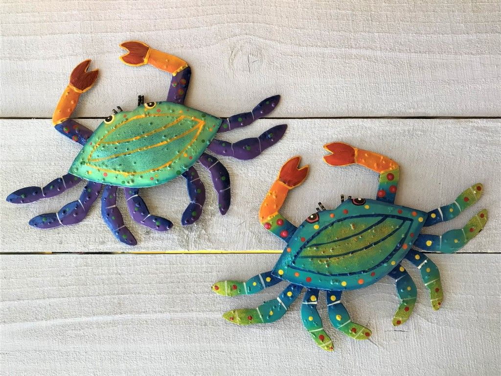 Crab delight our marvelous handcrafted metal art is beautifully