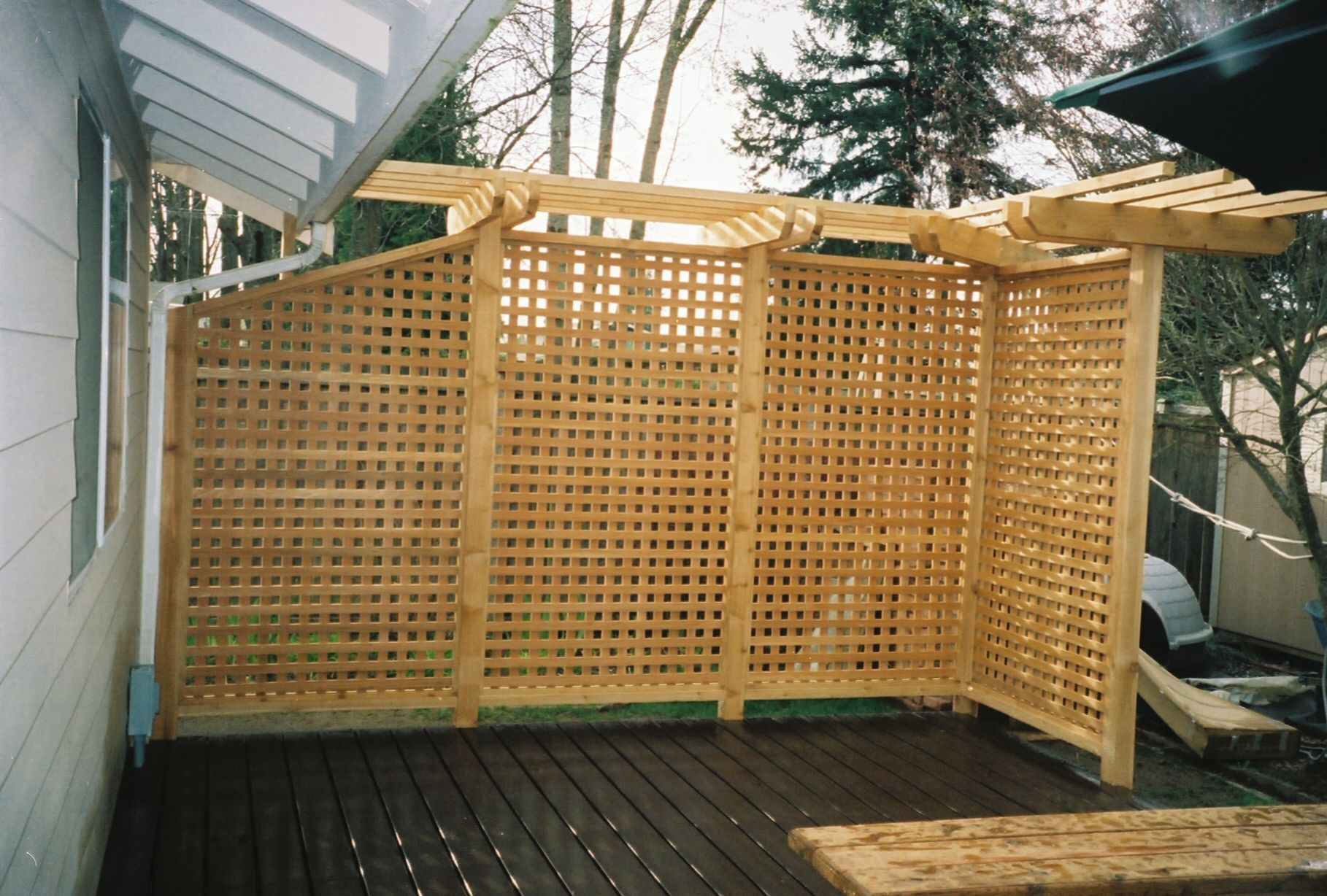 patio screen pergola