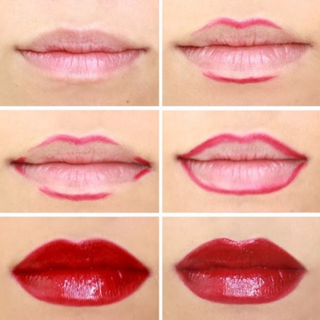Image result for lining your lips