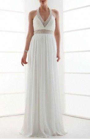 vestidos de novia de chiffon - Buscar con Google