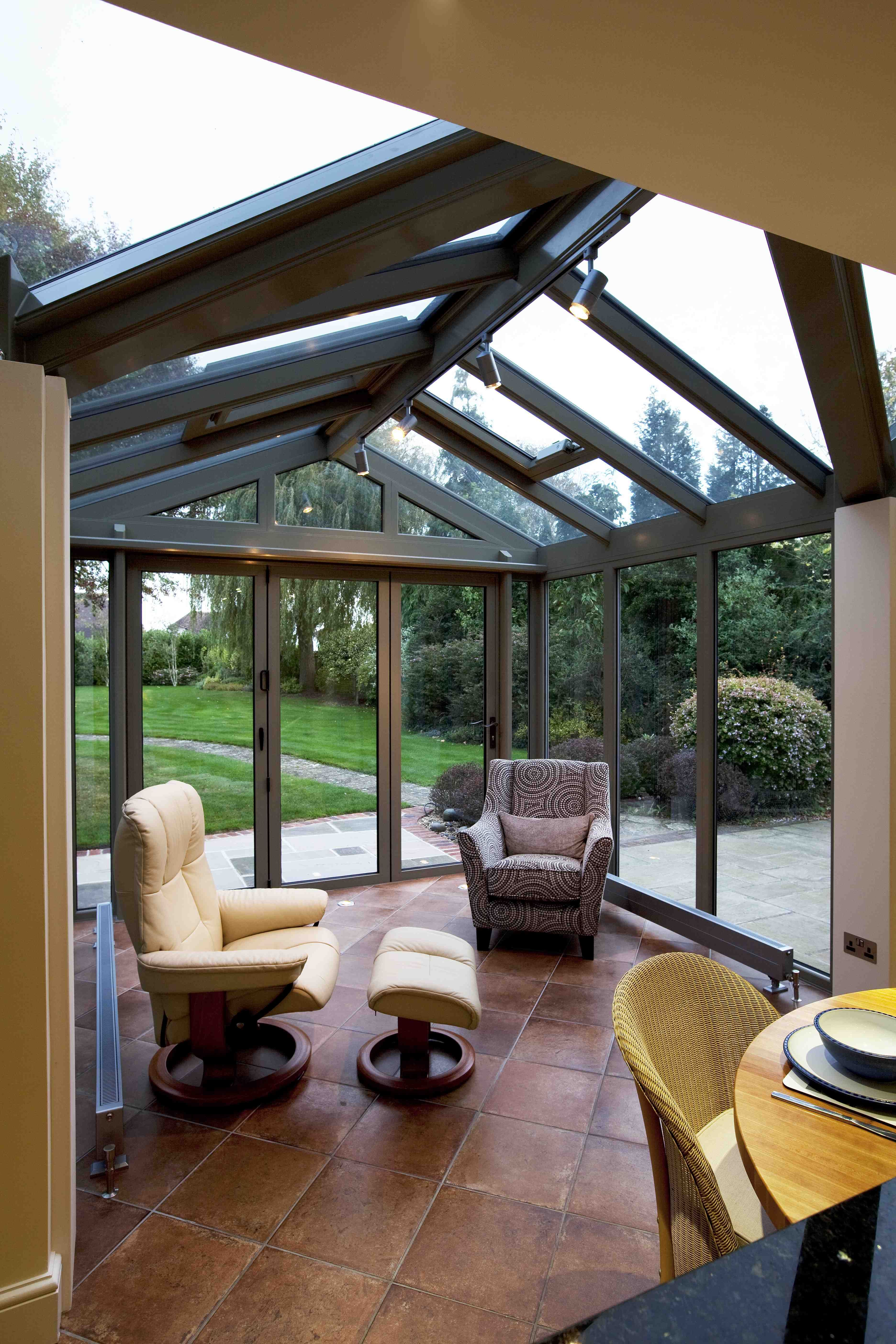 Kitchen Conservatory Small Conservatory Simple And Contemporary Makes A Spacious