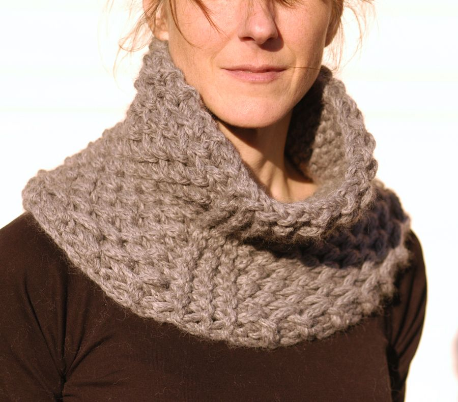 the Brioche Honeycomb Cowl ~ Knit 1 LA | Knitting - Cowls / Infinity ...