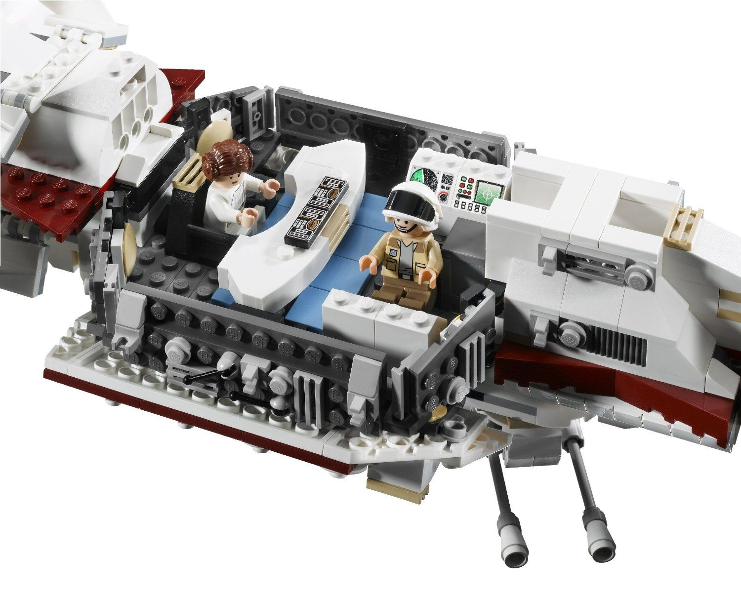 Lego Star Wars Tantive Iv 10198 By Lego Lots Of Interior Details Including Leia S Desk And Command Center With Seats For Lego Star Wars Lego Army Star Wars
