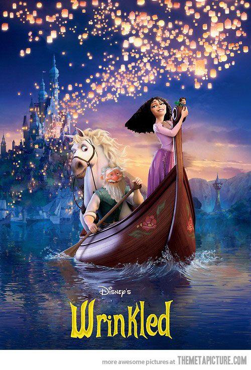 Wrinkled Tangled Movie Disney Princess Movies Princess Movies