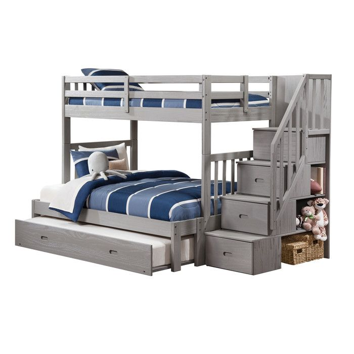 youu0027ll love the kaitlyn twin over full bunk bed at wayfair great deals
