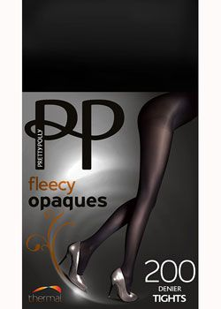 ffa7d7eed Cosy enough for the ice rink- Pretty Polly 200 Denier Fleecy Opaque Tights  - £9.99
