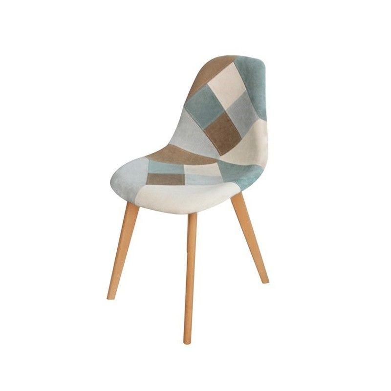 Oraz Chaise Patchwork Zoli99 En 2020 Chaise Multicolore Chaise Chaise Eiffel