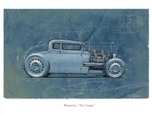 Chris piscitelli artwork the blueprint design165 via cars toons chris piscitelli artwork the blueprint malvernweather Gallery
