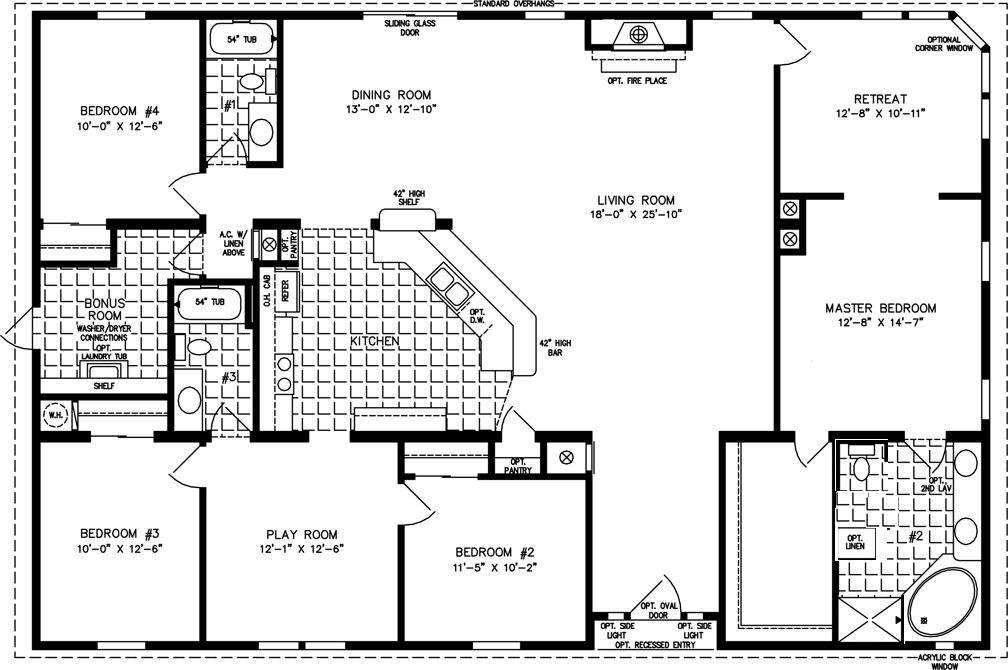 bedroom mobile home floor plans but seriously  love this and room for everyone separate play retreat same level opposite ends of also pin by brandy lopez on the pinterest house rh