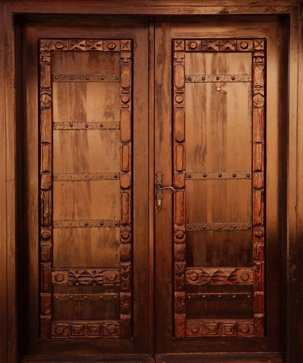 Download Carved Solid Wood Doors Interior Antique Dark Brown Wooden Door  Craftsman Amazing Solid Wood Doors