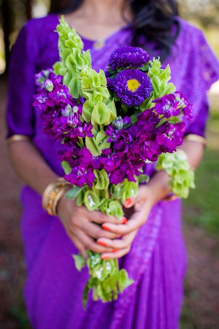 Indian Jewish Wedding Volatile Photography 13 Indian Wedding Flowers Purple Wedding Inspiration Purple Wedding