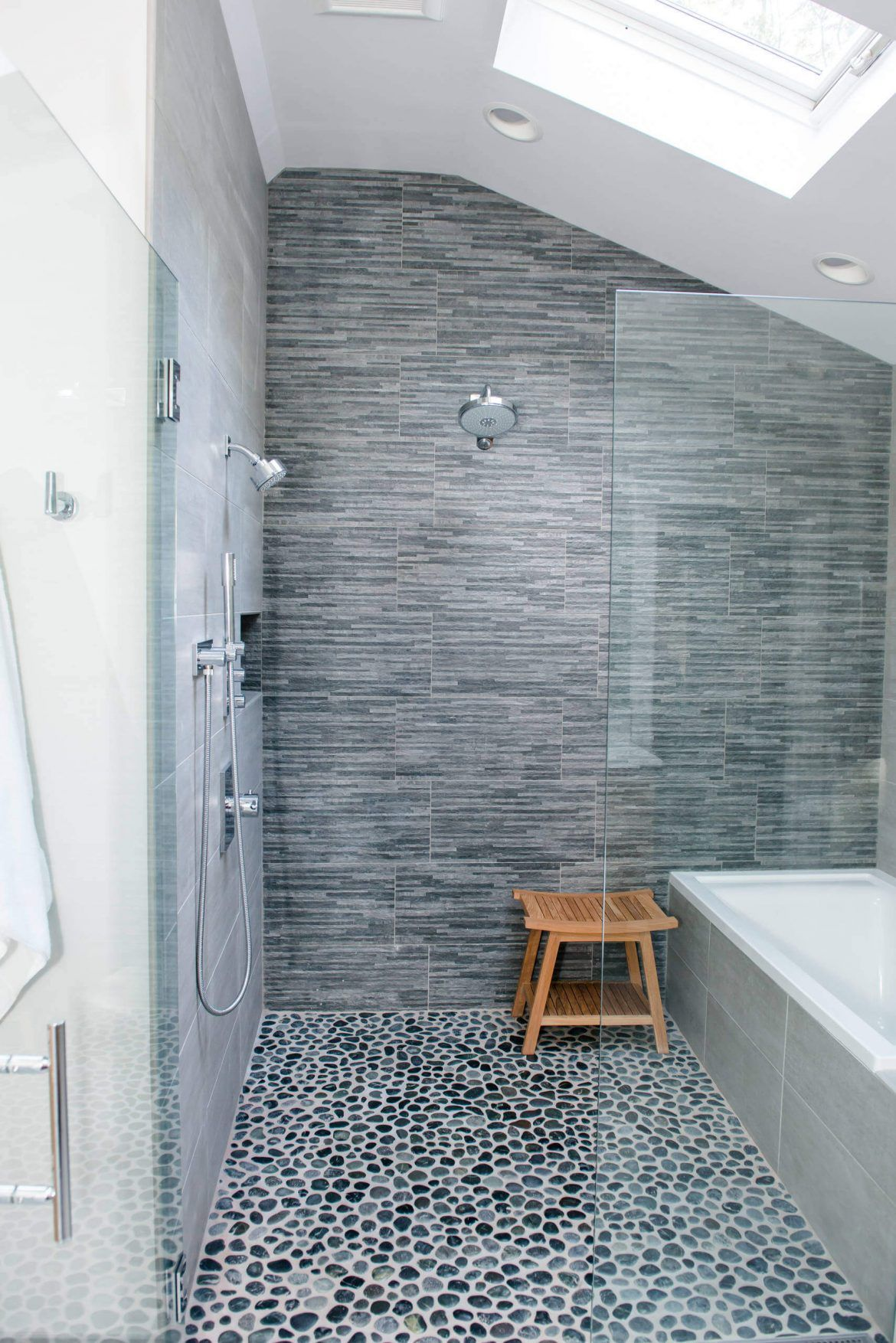 44 Modern Shower Tile Ideas And Designs For 2020 With Images