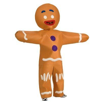 Men\u0027s Shrek Forever After Gingerbread Man Costume - Extra Large 31 - mens homemade halloween costume ideas