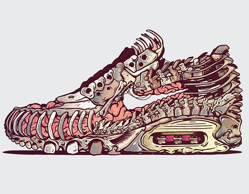 Nike sneaker design | Sneaker, Streetart