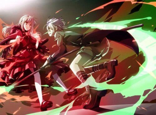 Anime Kushina Anna And Gojou Sukuna Image K Project K Project Anime K Project Anna