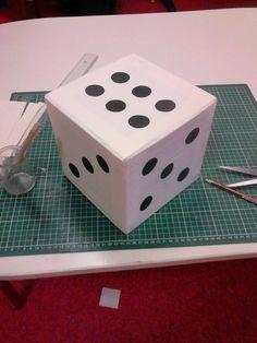 Fabrication D Un De Geant Avec Images Jeux Casino Jeu De L
