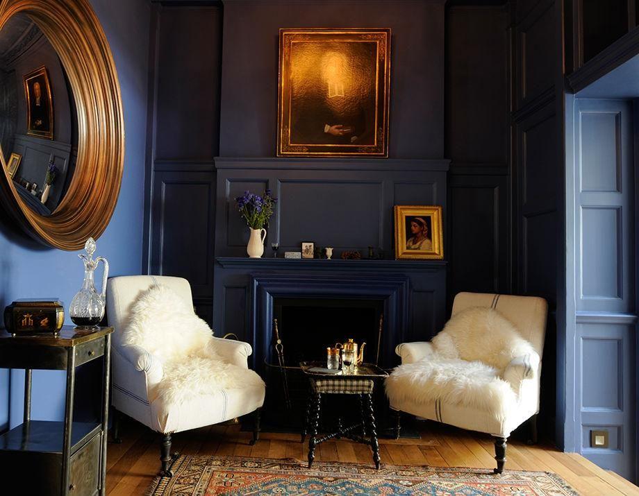 Grant Pierrus On Twitter Gold Living Room Decor Blue Interior Design Gold Living Room