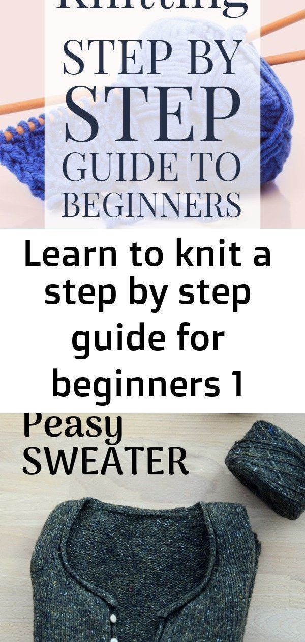 Photo of Learn to knit a step by step guide for beginners 1 :  Learn knitting techniques …