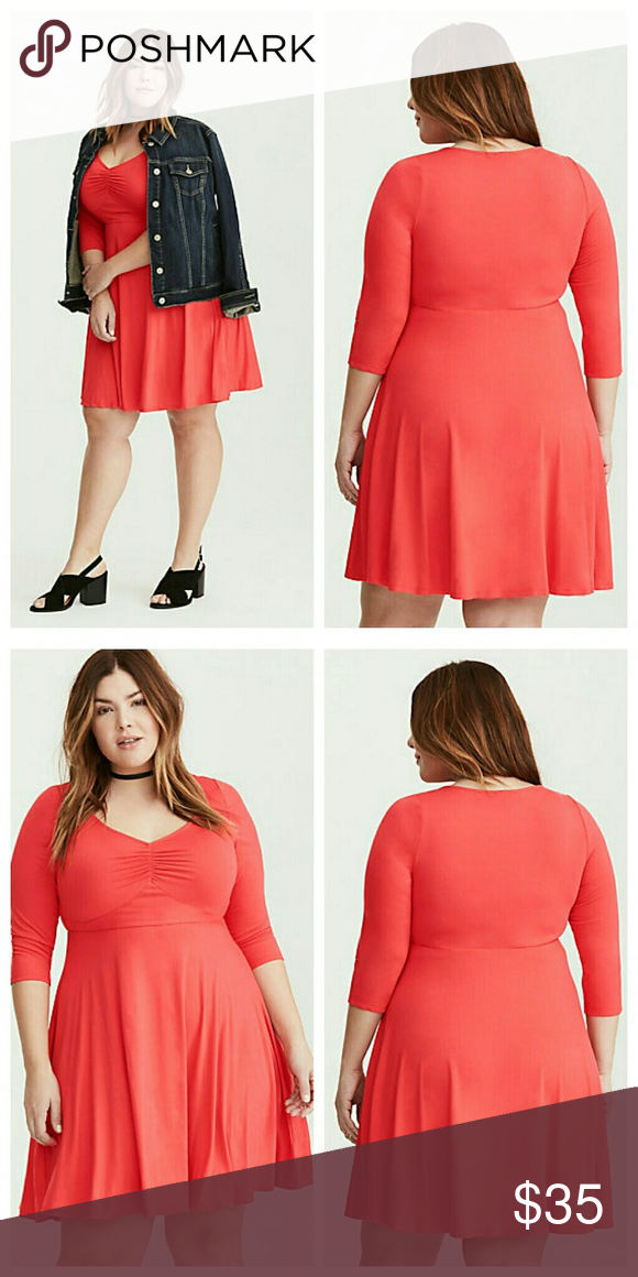 ae1f35333b5 New Jersey Knit Sweetheart Skater Dress 2x 4x Just because this dress is a  basic
