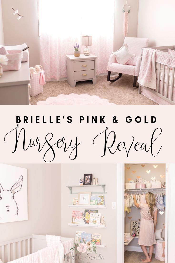 Pink Blush Baby Girl Nursery Decor images