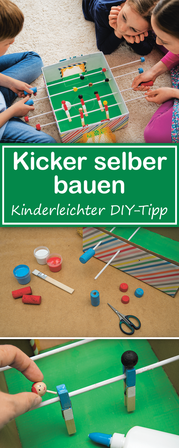 diy tipp schuhkarton basteln mit kindern und fu ball. Black Bedroom Furniture Sets. Home Design Ideas