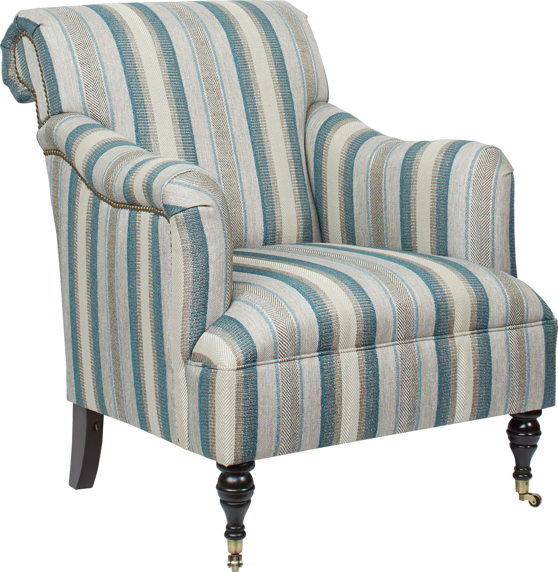 Cindy Crawford Home Lincoln Heights Teal Accent Chair Teal