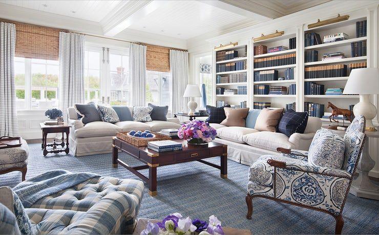Alexa Hampton Interiors Livingroom, Furniture Removal Long Island