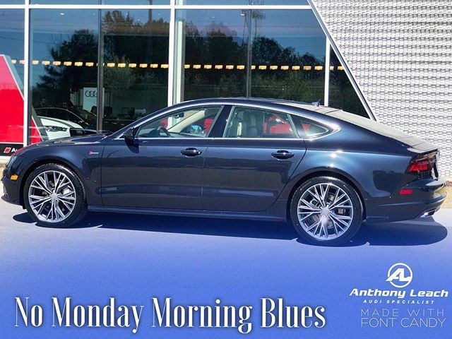 Moonlight Blue Metallic Audi A7 Blue Moonlight Monday Audia7