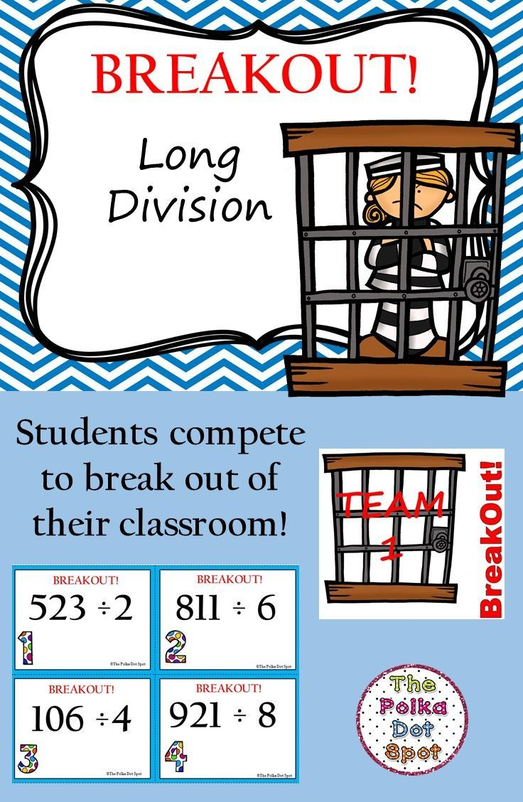 BreakOut Game- Long Division | - Math Explorations - | Pinterest ...