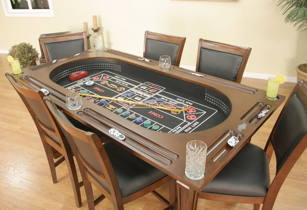 Dining Room Traditional Poker Table Combination Dining Tables Of