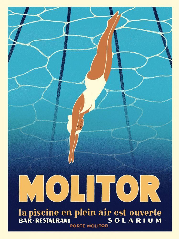 Molitor s'affiche ! - EXCLUSIVIT�