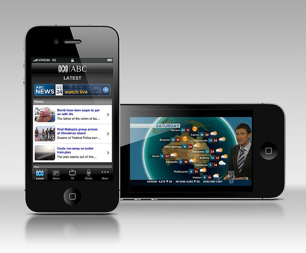 Abc iphone app mobile awards mobies iphone apps abc