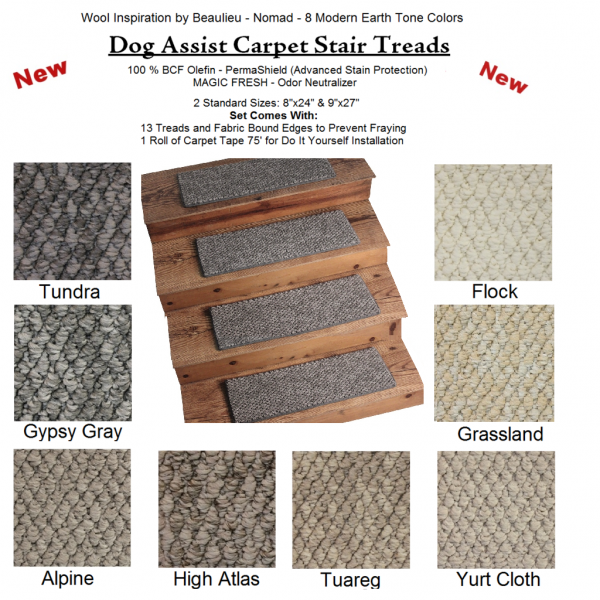 Best Nomad Ii Dog Assist Carpet Stair Treads 400 x 300