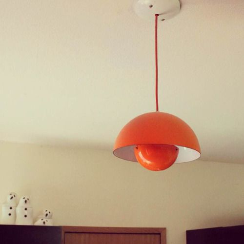 Marvelous Verner Panton Flowerpot Pendant Lamp Photo