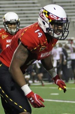 The University Of Maryland S Football Team Is Loaded With Local Prince George S County Talent Suitland High School Graduate Jeremiah Johnson Is One Of With Images Football