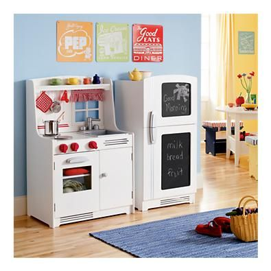 Land Of Nod Wooden Play Kitchen I Want This For Silly Ana