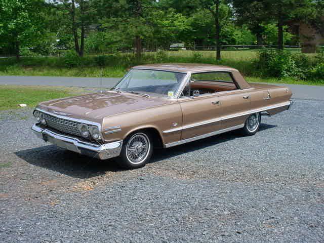 1963 Chevrolet Impala 4 Door Hardtop 327 300hp For Sale 1649456 Chevrolet Impala Impala Chevrolet